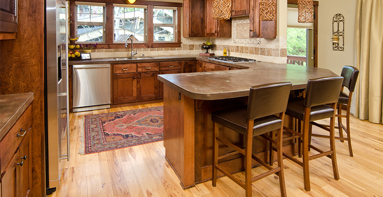Matching Hardwood Colors With Cabinets