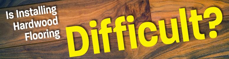 hardwood floors diy or professional