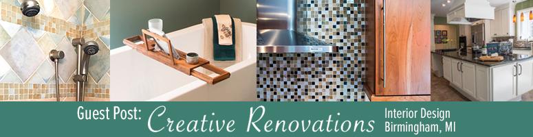 creative renovation interior design