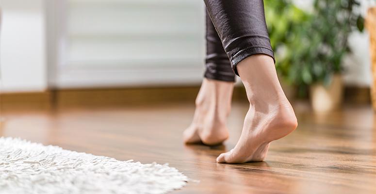 The best flooring for busy households the carpet guys for Hardwood floors hurt feet