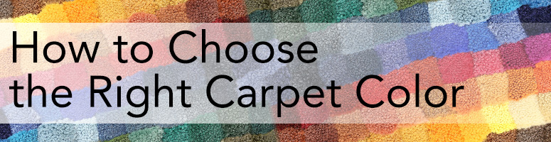 How To Pick A Carpet Color For Your Rooms The Carpet Guys
