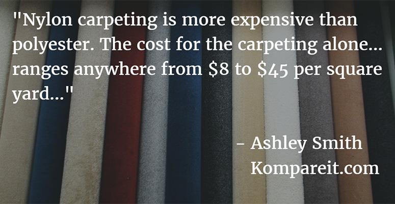 nylon carpet prices