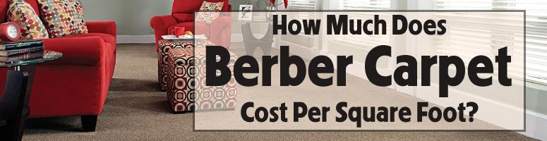 Berber Carpet Sq Ft Price