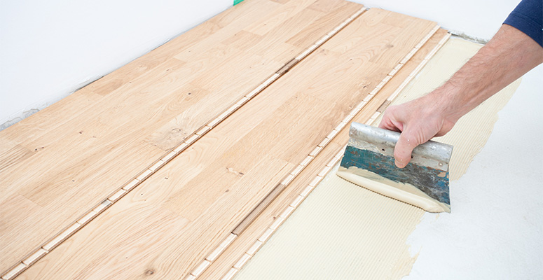 Tongue And Groove Floor Glue