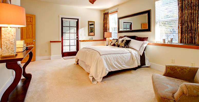 How To Pick The Perfect Carpet Color For Bedrooms
