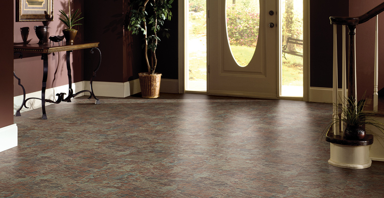 stone texture vinyl tile