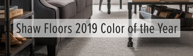 2019 shaw carpet color of the year
