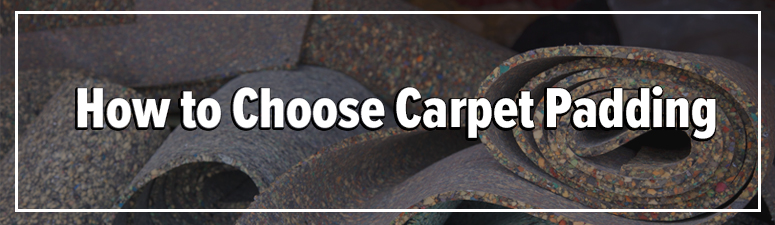 wholesale carpet padding