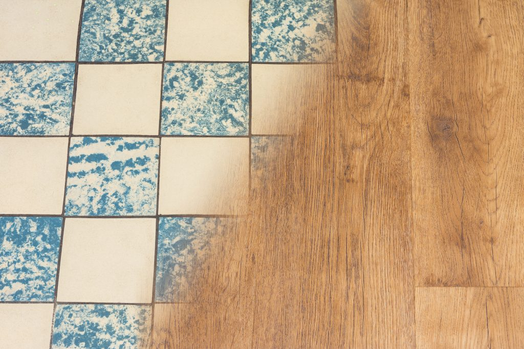 Replace your outdated flooring