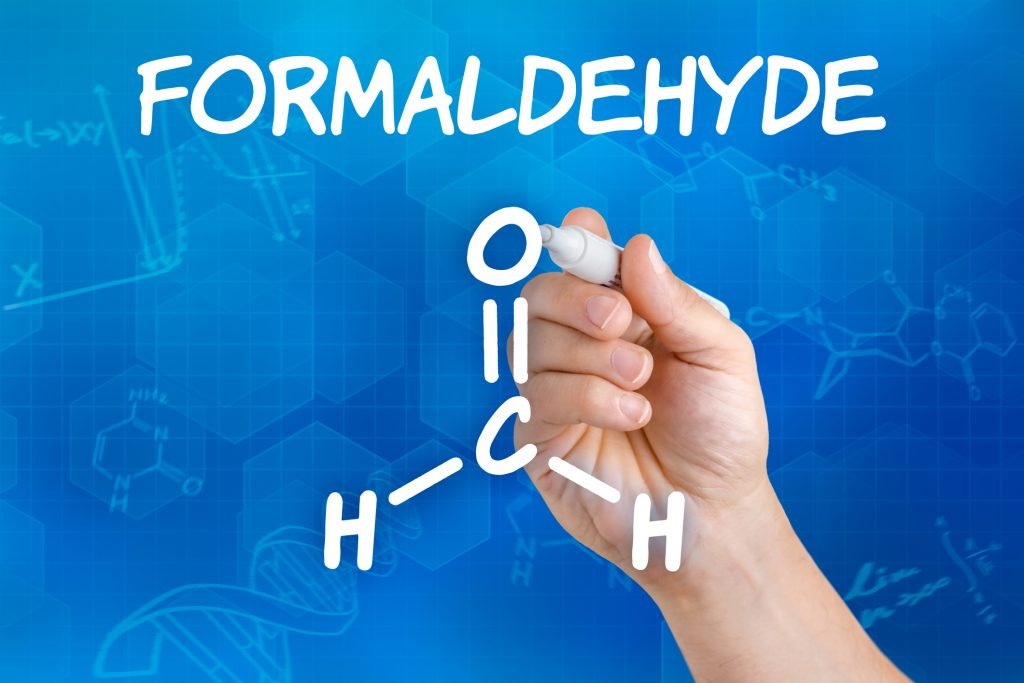 Chemical formula of formaldehyde