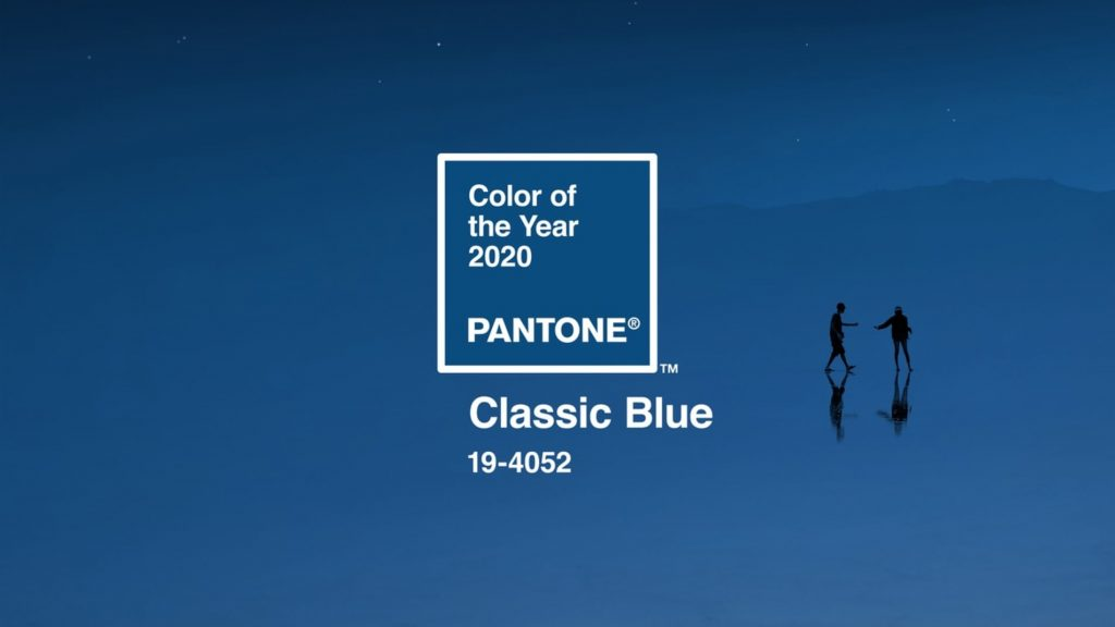 Pantone's color of the year is Classic Blue