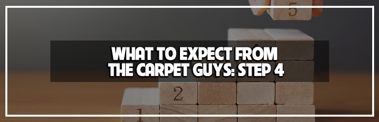 What to expect from The Carpet Guys, Step 4 - Installation Call blog banner