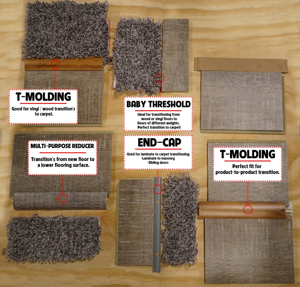 What Are Flooring Transition Strips Let The Carpet Guys Show You