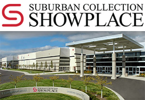 Novi Suburban Collection Showplace link to directions page