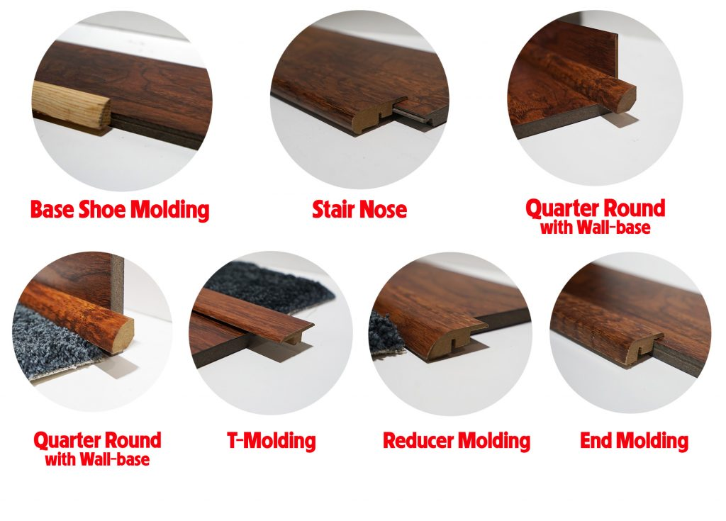 flooring transition pieces frequently used by the carpet guys
