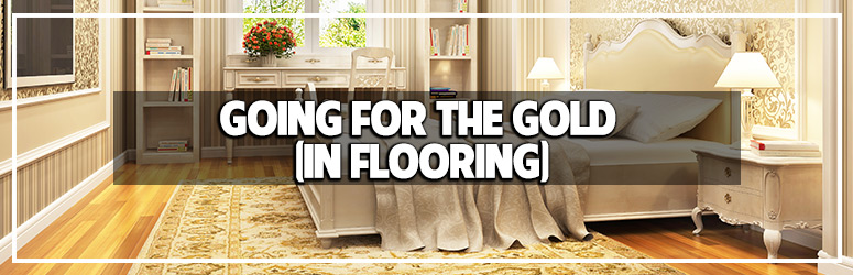 Going for the gold in flooring trends blog banner