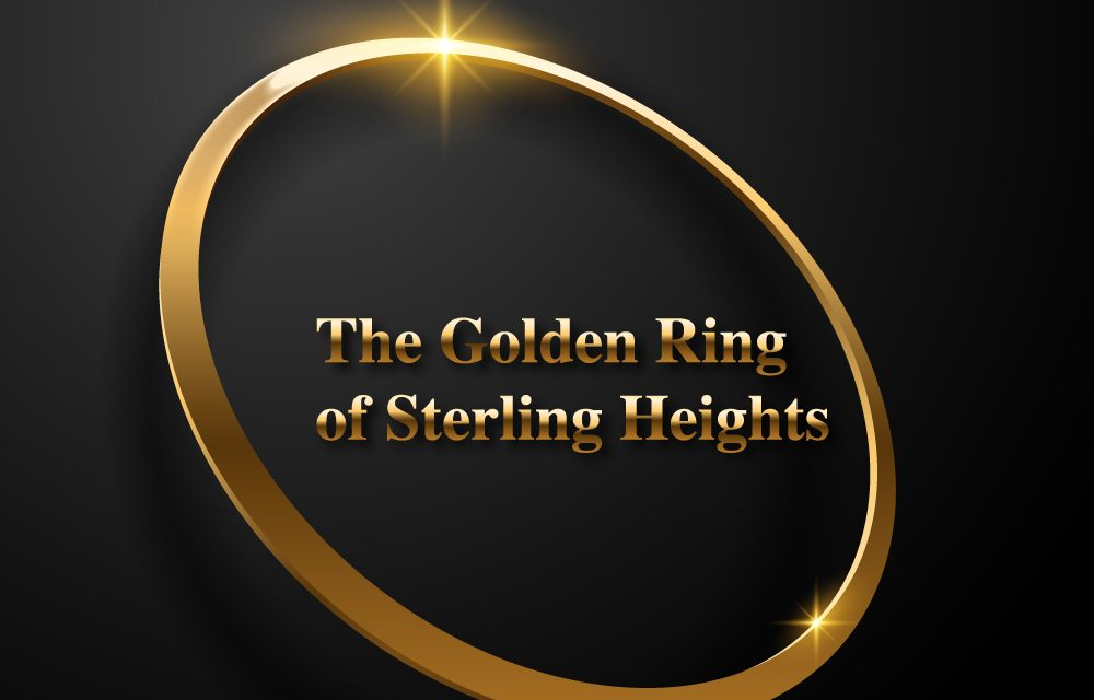 blog banner for the golden ring of sterling heights