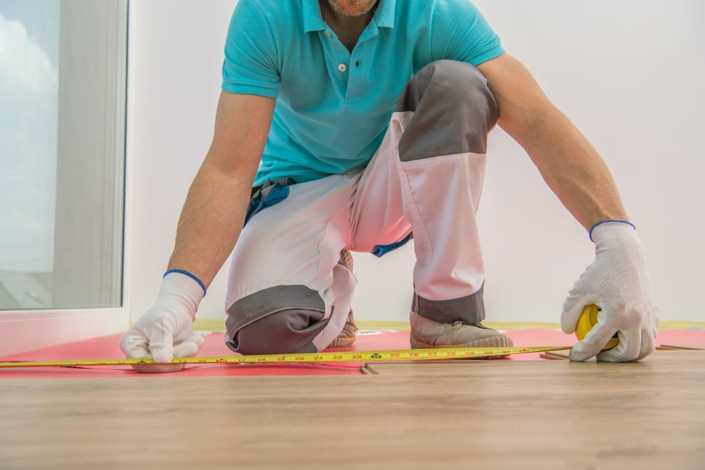 installing new laminate floor