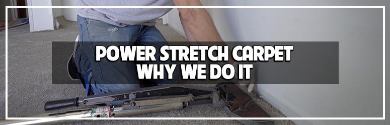 Power Stretching Carpet