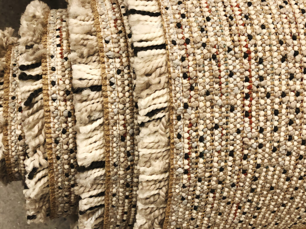 Berber carpet backing