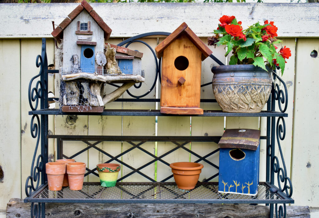 gardening storage and work spaces for she sheds