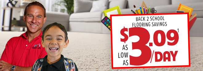 Carpet Installation Deal of the Month